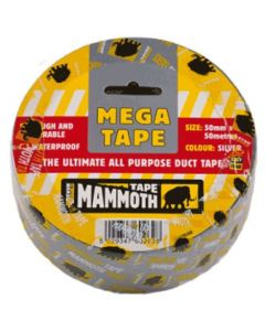 Mega All Purpose Tape Black 50mm x 50M