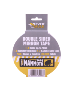 Double Sided Mirror Foam Tape 24mm x 5M
