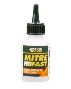 Mitre Fast Adhesive Bottle Standard 50g