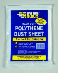 Polythene Dust Sheet 12 x 9