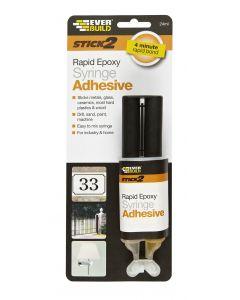 Stick 2 Rapid Epoxy Syringe 24ml